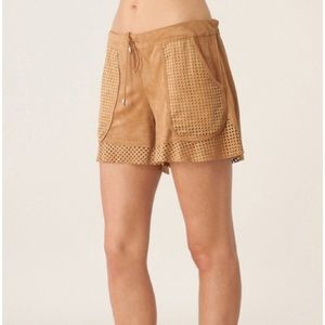 Liberty Garden Suede Shorts Size L